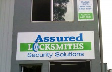 Assured Locksmith Wall Signs