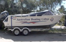 Australian Boating College Boat