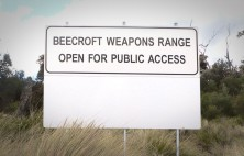 Beecroft Weapons Safety Sign
