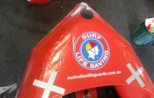 boat wrap surf lifesaving