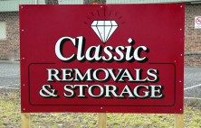 Classic Removals Storage Sign