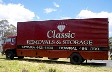 Classic Removals Truck car wrap