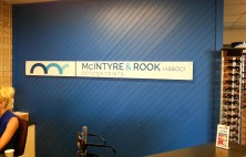 interior business signs mcintyre & rook