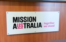 interior business signs mission australia