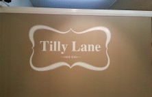 interior business signs tilly lane
