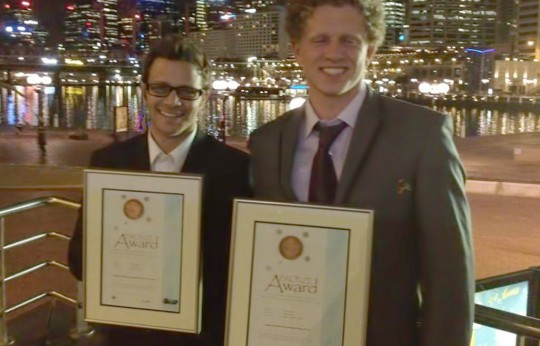 Anthony Puglisi AGSA Sign Industry Award for Airbrushing