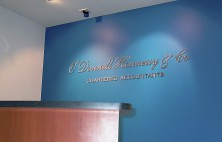 O'Donnell Accountants Sign
