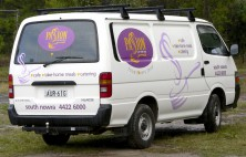 Passion Catering car wrap